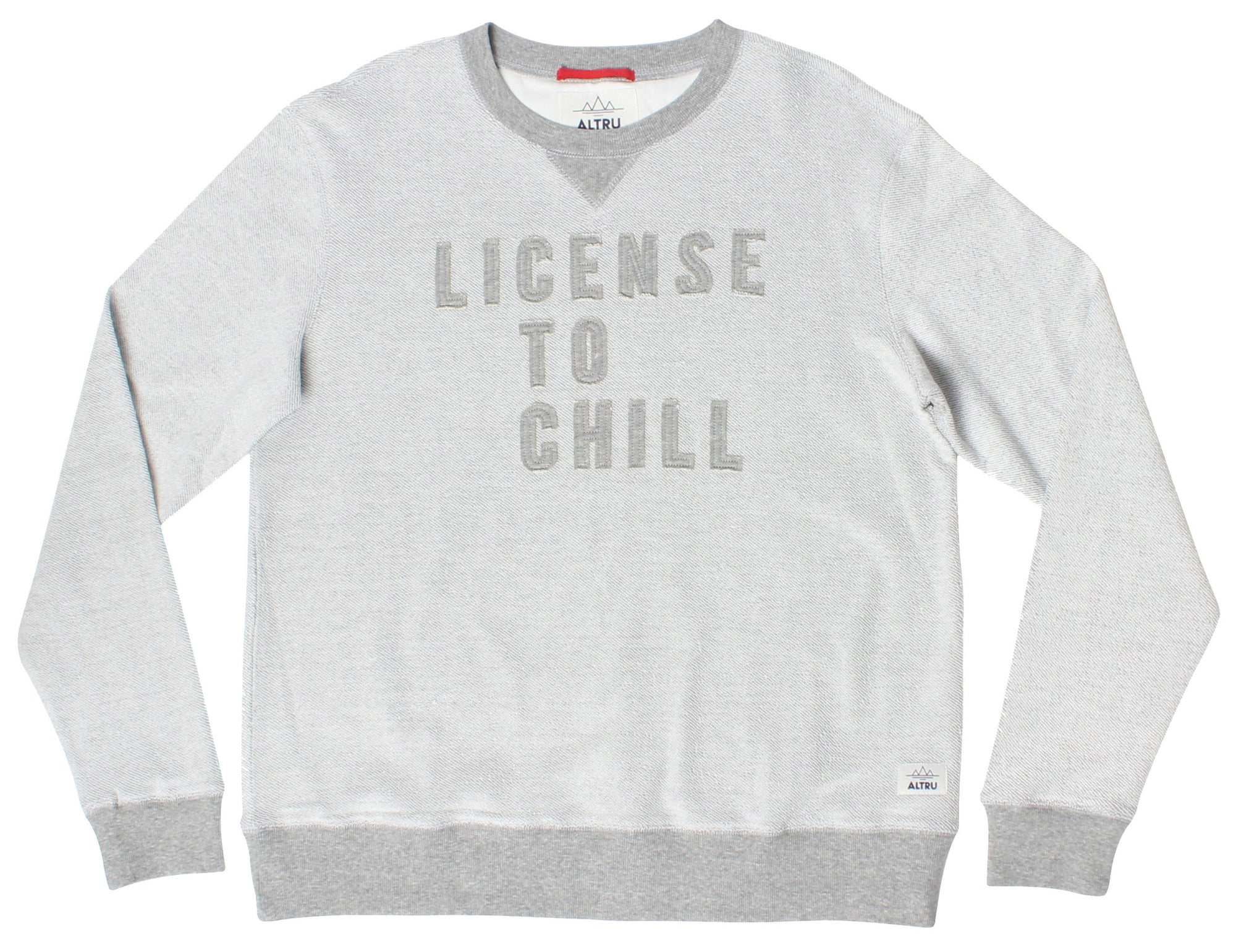 Altru Apparel License to Chill Reverse Crew Sweatshirt