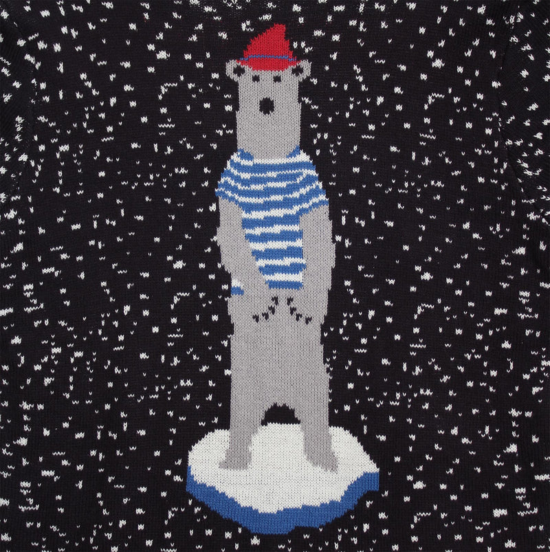 POLAR BEAR ON ICE SWEATER