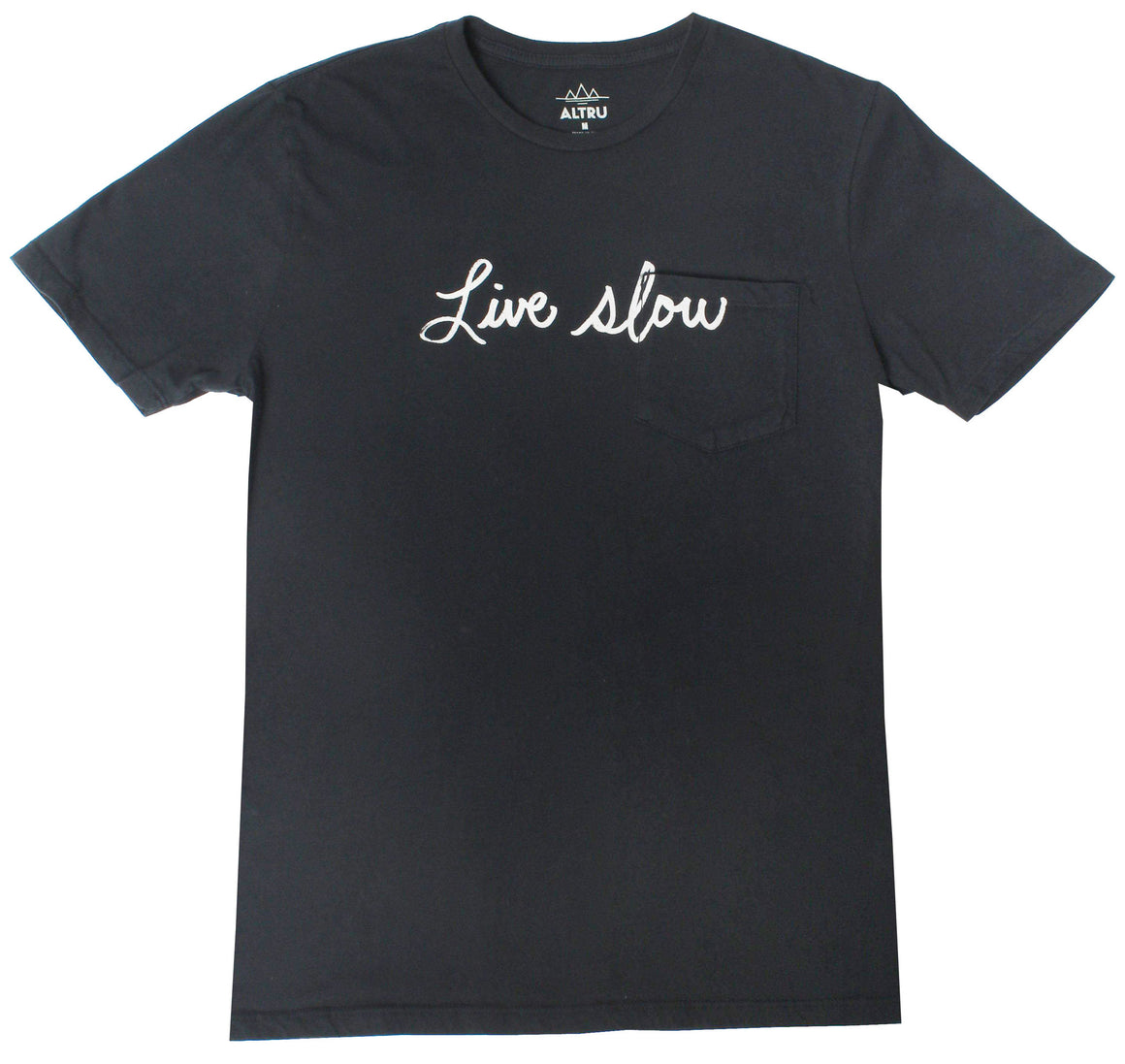 Altru Apparel Live Slow Pocket Tee