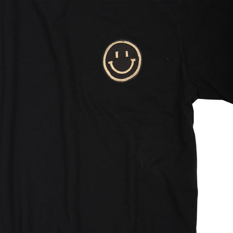 Altru Apparel Mase Man Smiley Patch T-shirt detail