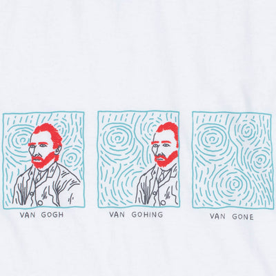 VAN GOGH, GOHING, GONE graphic tee