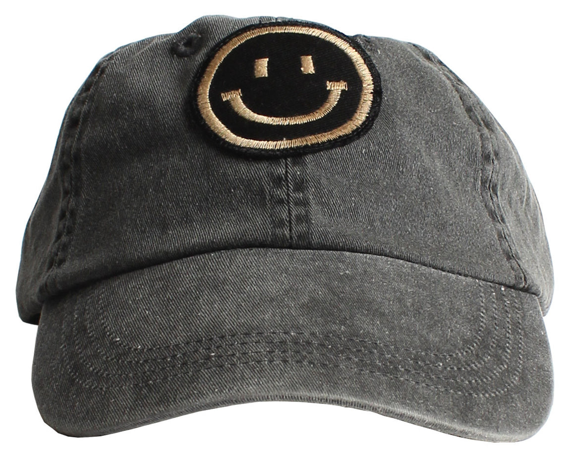 Maseman Smiley Face 6 panel low profile patch Cap
