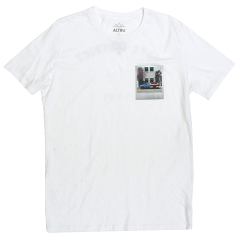 Art District on Polaroid Laura Austin Photographer t-shirt front