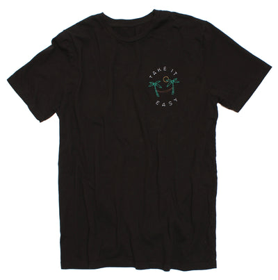 Take It Easy Hammock Embroidery Tee