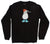 Blue Footed Booby Crew Neck Black Sweatshirt by Altru Apparel