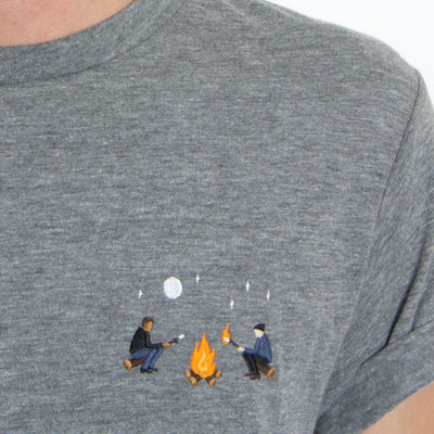 Campfire Embroidery Tee by Altru Apparel 4