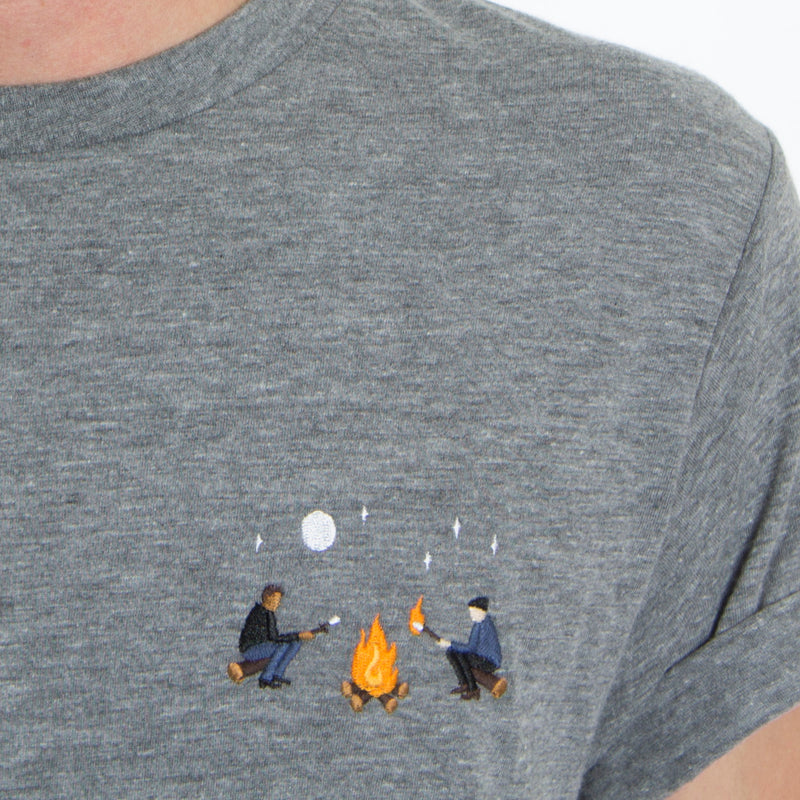 Campfire Embroidery Tee by Altru Apparel