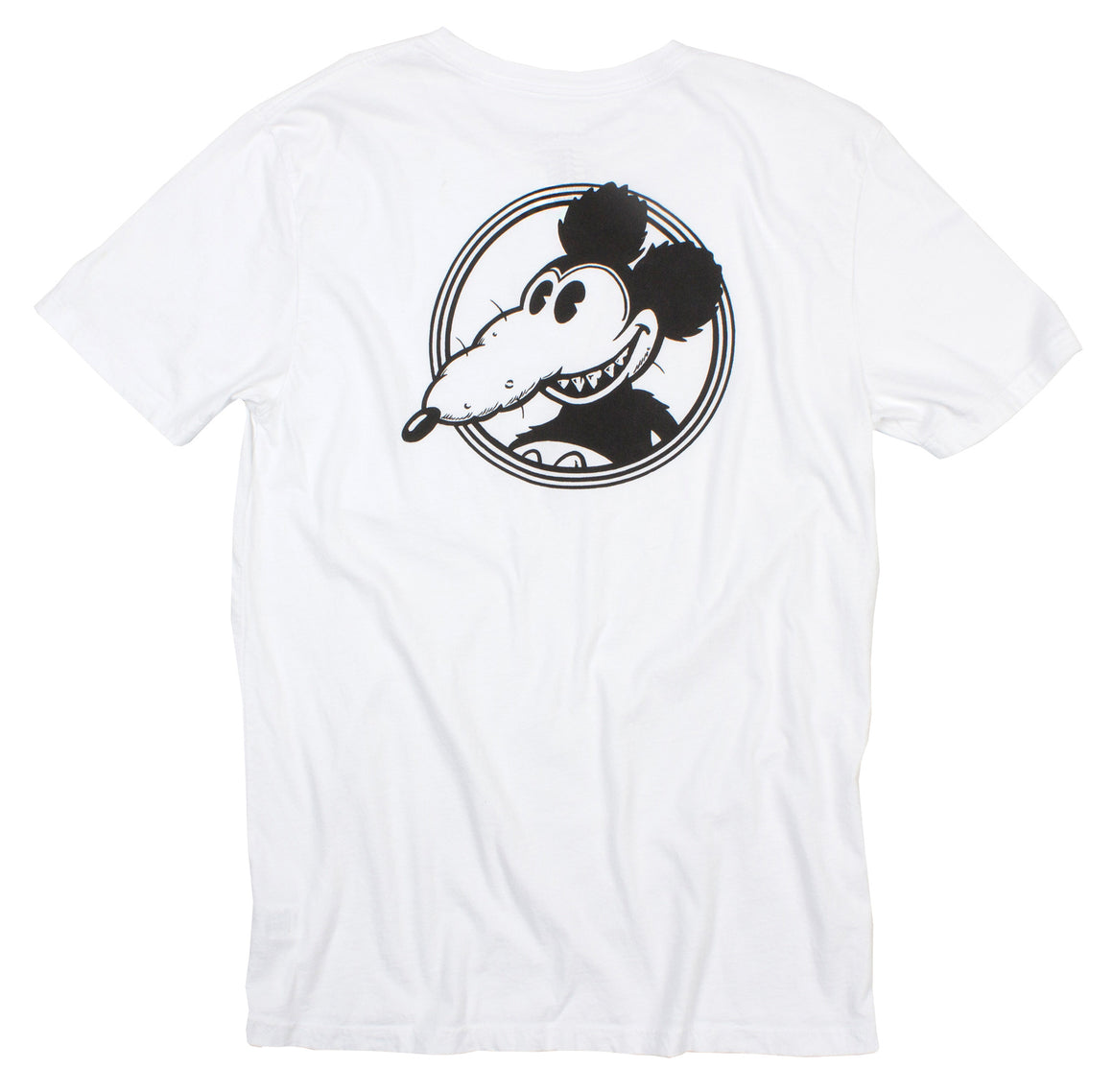 Mickey Rat B/W Spotlight F/B Graphic Tee