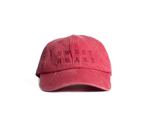 Sweet Heart Embroidered  Cap