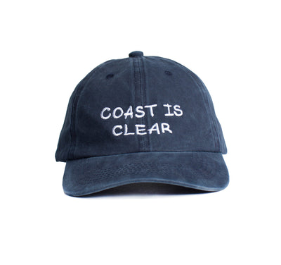 Coast is Clear Embroidered  Cap