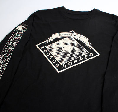 Everything Photoshopped L/S black T-shirt by Altru Apparel