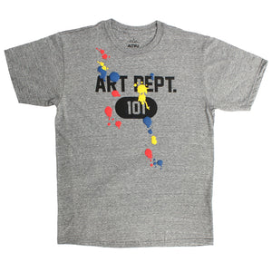 Art Dept. 101 Paint Splats T-shirt by Altru Apparel