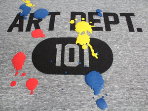 Art Dept. Paint T-shirt by Altru Apparel