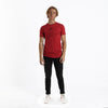 Elvis Embroidered red T-shirt by Altru Apparel