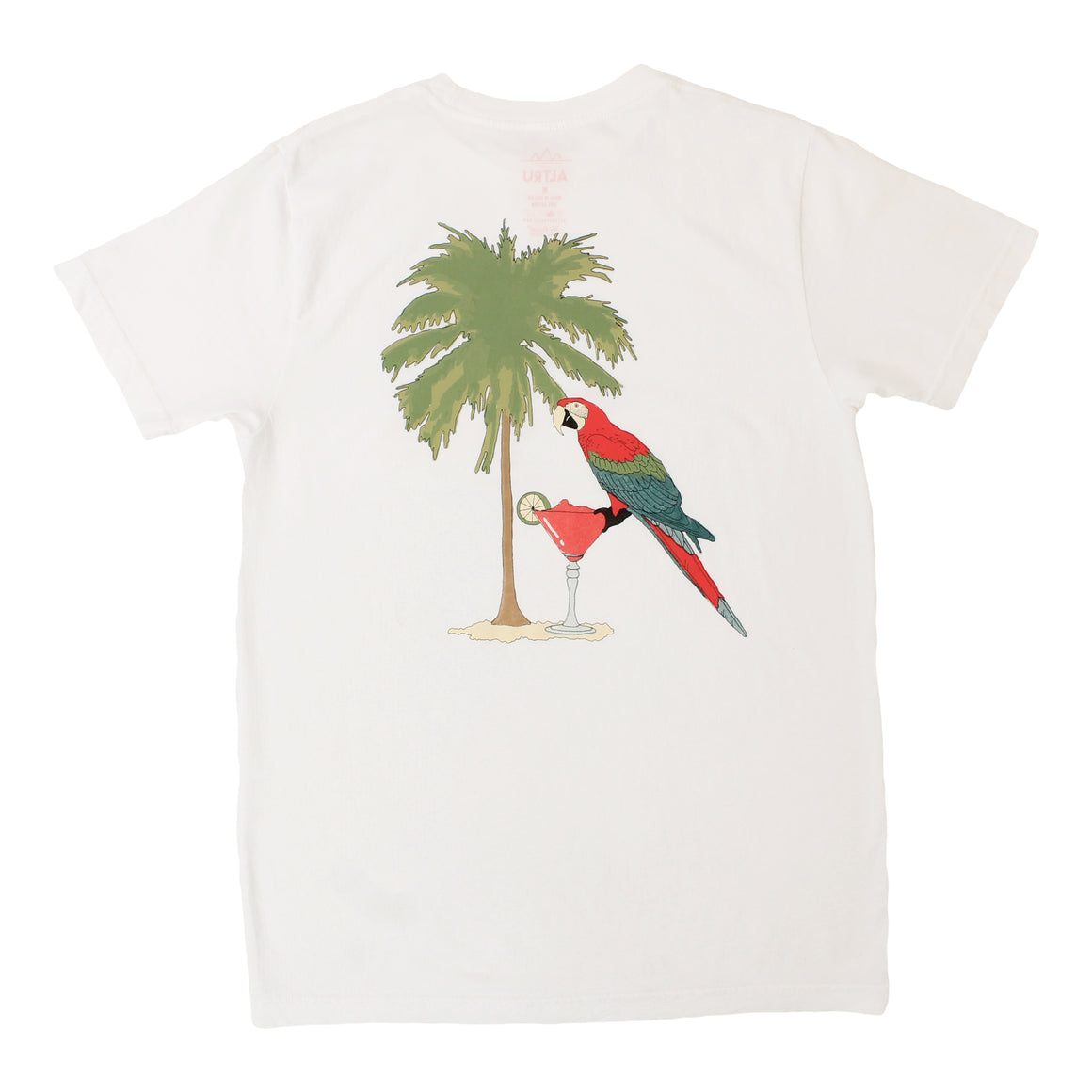 Parrot Tee with the graphic on the back by Altru Apparel