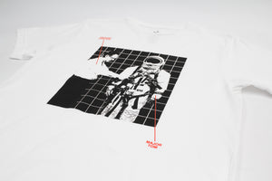 Ground Control and Major Tom, white graphic Tee by Altru Apparel