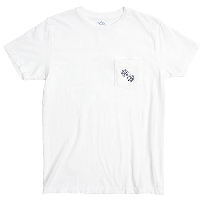 dice flamingo altru apparel pocket graphic tee
