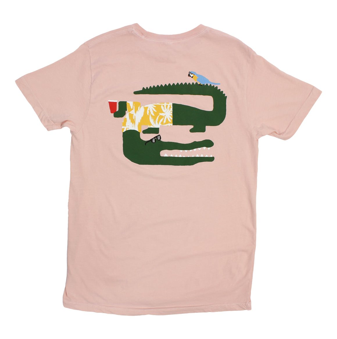 crocodile / alligator graphic tee by Altru Apparel