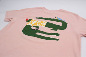 crocodile / alligator graphic tee by Altru Apparel detail image 2