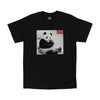 Chillin Panda LIFE black tee by Altru Apparel