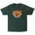 Tiger Dragon forest green tee by Altru Apparel