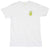Peace Cactus white graphic tee by Altru Apparel front image