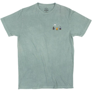 Marshmallow Roasting embroidered graphic tee by Altru image front