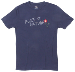 Force of Nature Embroidered graphic Tee by Altru Apparel