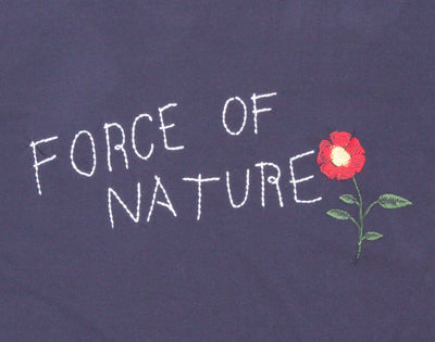 Force of Nature Embroidered graphic Tee by Altru Apparel detail