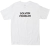 Solvem Probler White Graphic Tee  (Sterling Bartlett x Altru Apparel)