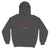 Hot Stuff Washed Black pullover Hoodie