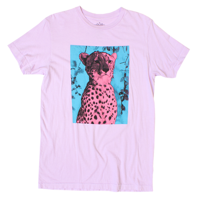Altru Apparel Pink Cheetah graphic tee