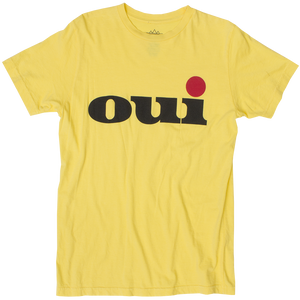OUI LEMON GRAPHIC TEE