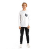 Altru Apparel Monkey on Bike pocket long sleeve tee