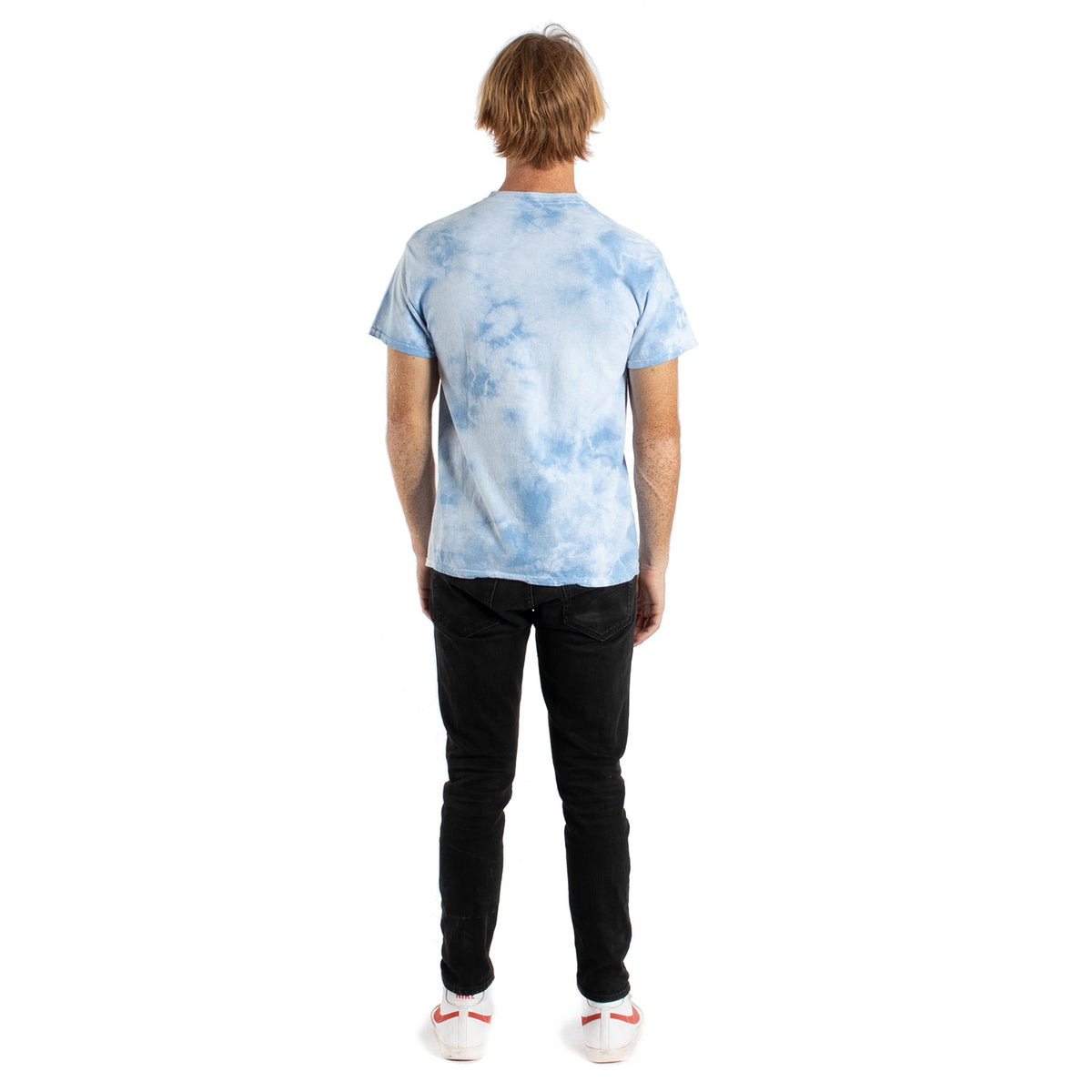 Altru Apparel Girl with Pearl Earring tie-dye tee