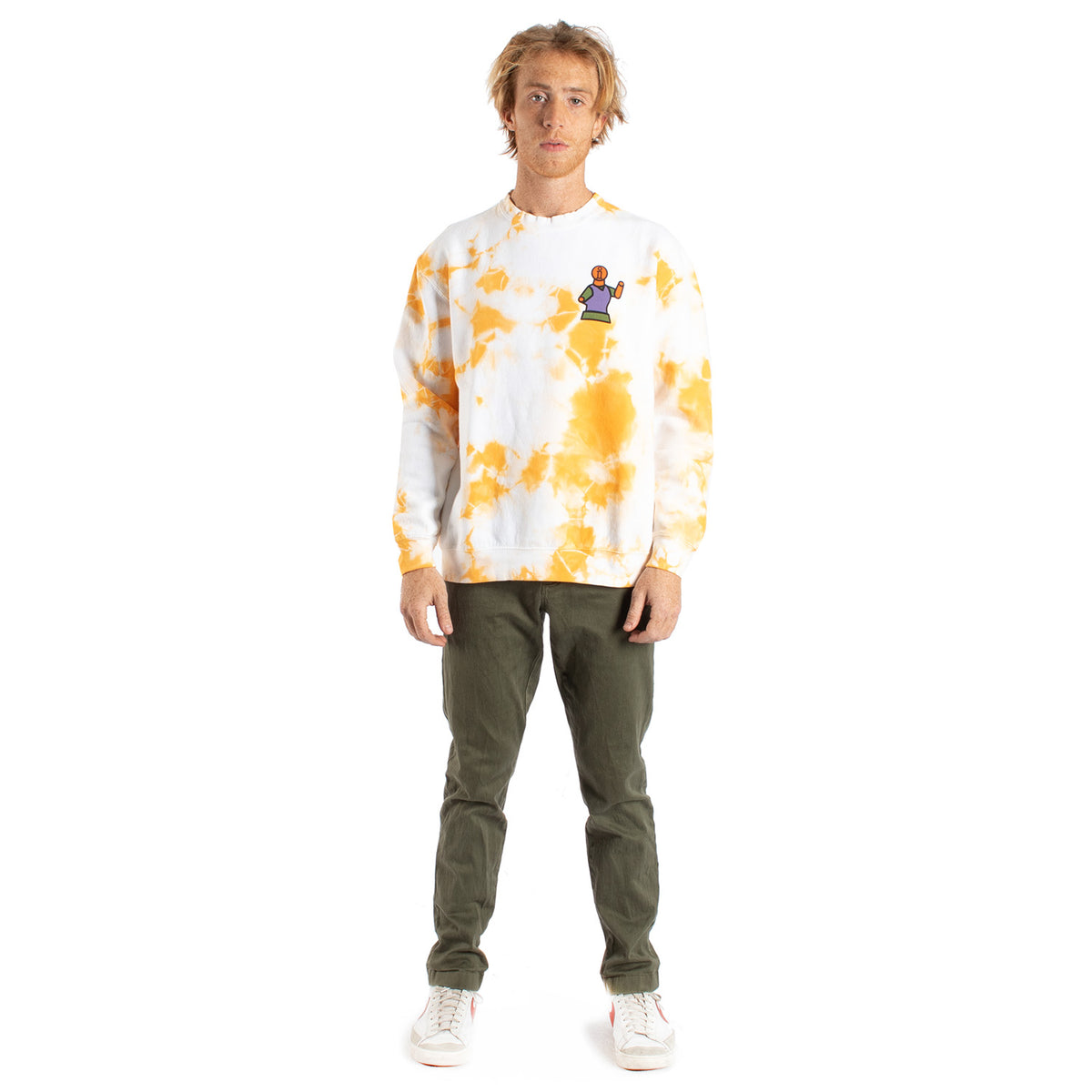 Fourth Dimension Peace Flower graphic sweatshirt