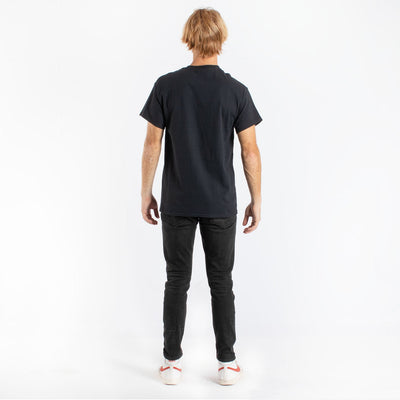 Swan Lake Tippy Toes black graphic tee