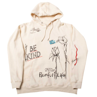 Altru Apparel Be Kind Art Graphic Hoodie
