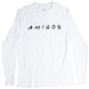 A.M.I.G.O.S. friendly colorful long sleeve graphic tee