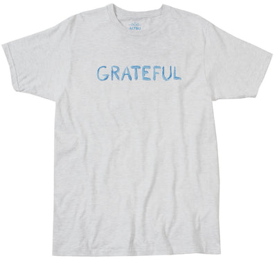 Grateful Graphic Mens Grey Tee by Altru Apparel