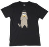 Taco Bandit Raccoon black graphic T-Shirt