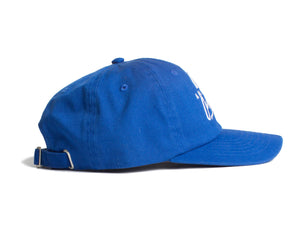AOL Logo Embroidered Royal Blue Cap