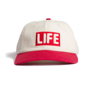 Altru Apparel LIFE Wool cap with chenille patch - taupe