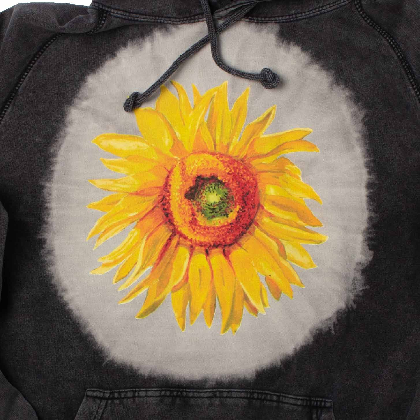 Altru Apparel Van Gogh Big Sunflower Hoodie Sweatshirt
