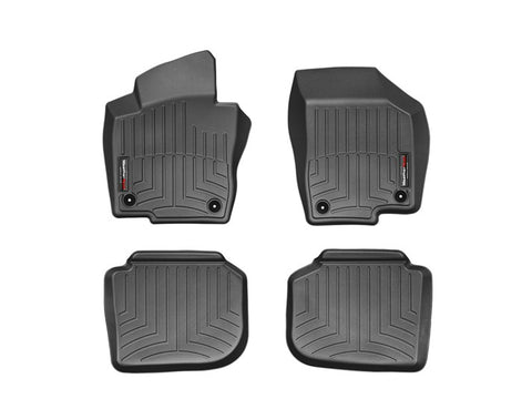 WeatherTech Floor Mats FloorLiner for Volkswagen Passat - 2012-2018 - Black