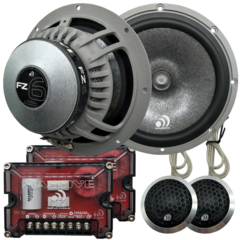 "FZ6 - 6.5"" 200 WATTS RMS COMPONENT KIT SPEAKERS"
