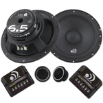"MK6 - 6.5"" 150 WATTS RMS COMPONENT KIT SPEAKERS"