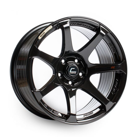 Cosmis Racing MR7 Black Wheel 18x9 +25mm 5x100