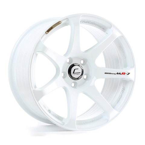 Cosmis Racing MR7 White Wheel 18x9 +25mm 5x100