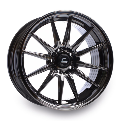 R1 Black Chrome Wheel 18x9.5 +35mm 5x112